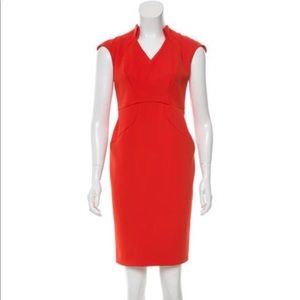 💯 Auth Zac Posen Cap Sleeve Dress NWT $1590 US 6